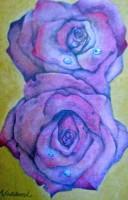 双子の薔薇